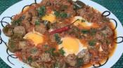 Ojja with Meatballs