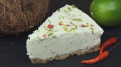 Coconut, Lime & Chili Cheesecake