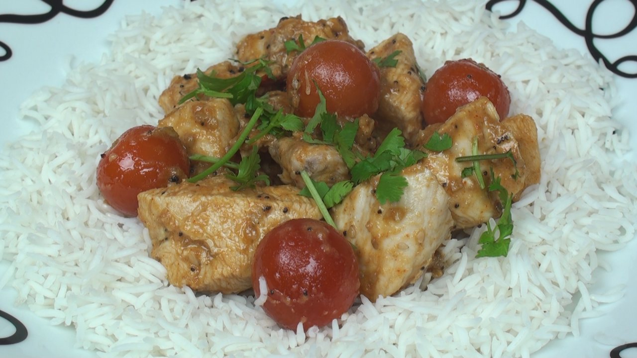 Sweet & Sour Chicken Curry