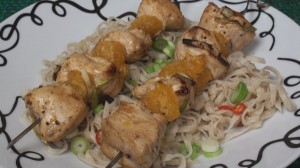 Spicy Chicken Kebab