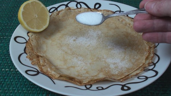 Pancakes (British)
