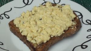 Scrambled Eggs à la Microwave