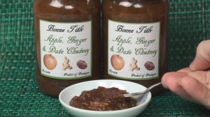 Apple Date Ginger Chutney