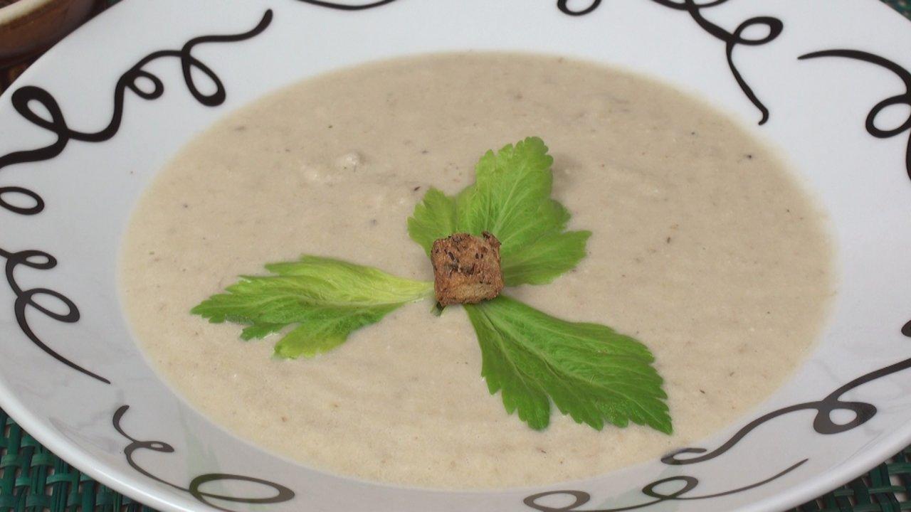 Celery & Walnut Soup