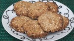 Honey Banana Oatmeal Cookies
