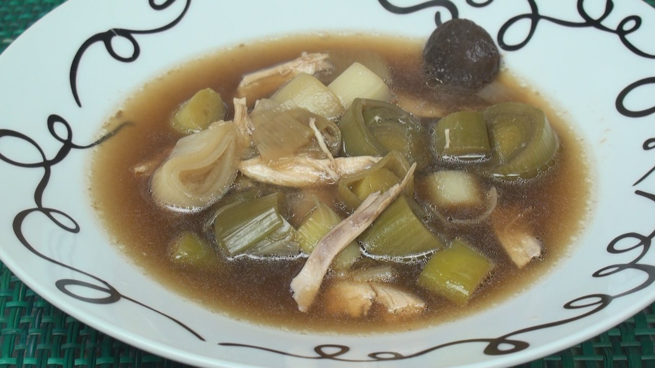 Cock-A-Leekie Soup