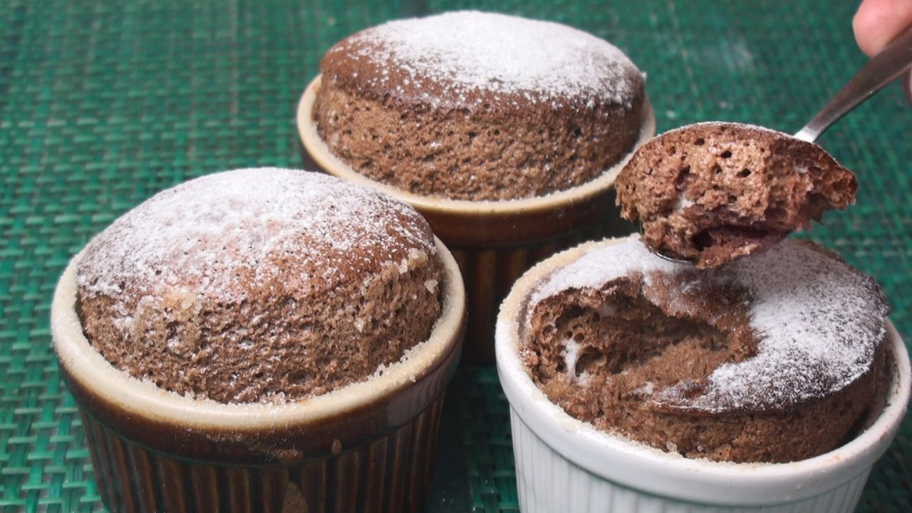 Non-collapsing Chocolate Soufflé Recipe