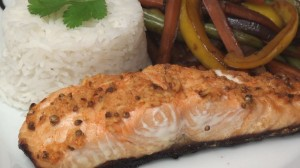 Thai-Spiced Salmon Fillets