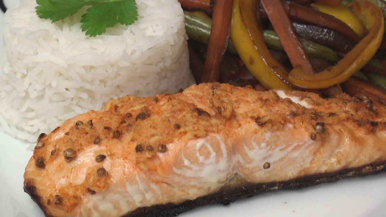 Thai-Spiced Salmon