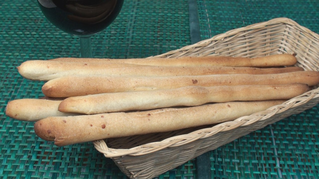 Grissini (Italian Bread Sticks)