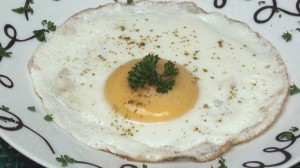 Cheese-Fried Egg