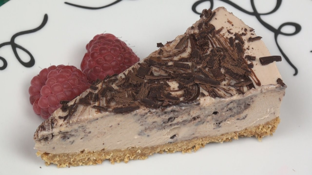Double Chocolate Marble Cheesecake Recipe