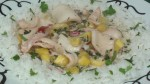 Lemongrass Squid with Mango