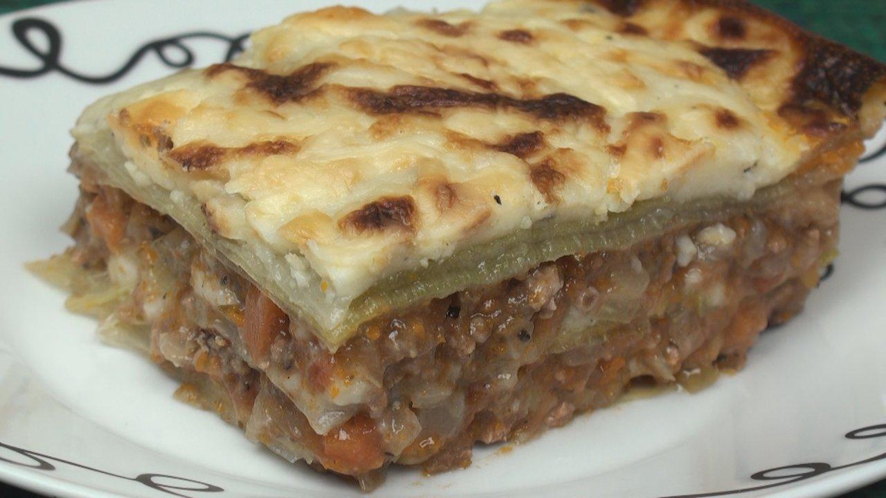 Pasta-less Gluten-Free Lasagne