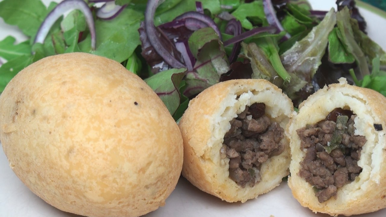 Papa Rellena (Peruvian Stuffed Potatoes)