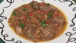 Tunisian Lamb Ragout with Lemon
