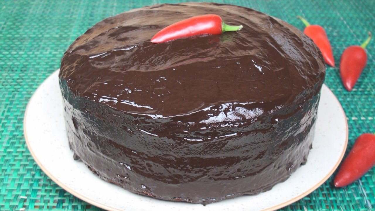 Chili Chocolate Cake