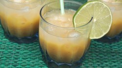 Filipino Mango & Lime Drink