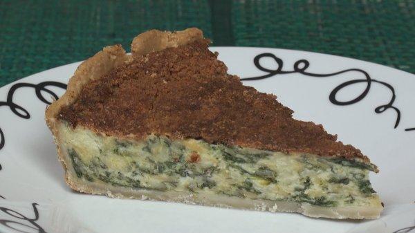 Cheese & Spinach Quiche