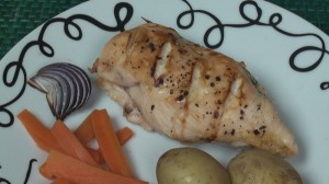 Grilled Chicken with Thai Flavours