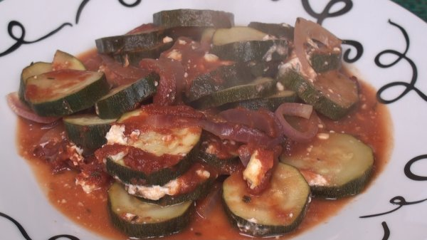 Baked Courgettes (Zucchini)