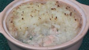 Creamy Fish & Mushroom Pie
