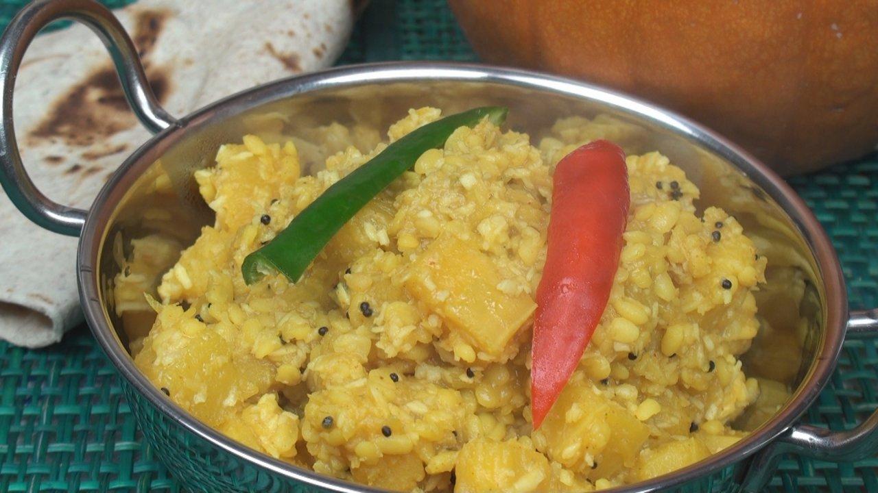 Pumpkin Curry Recipe / Koottu (South Indian)