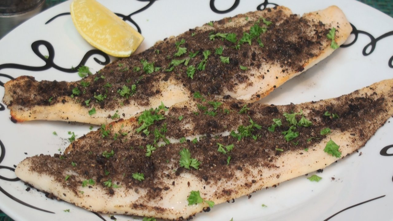 Pepper-Grilled Fish