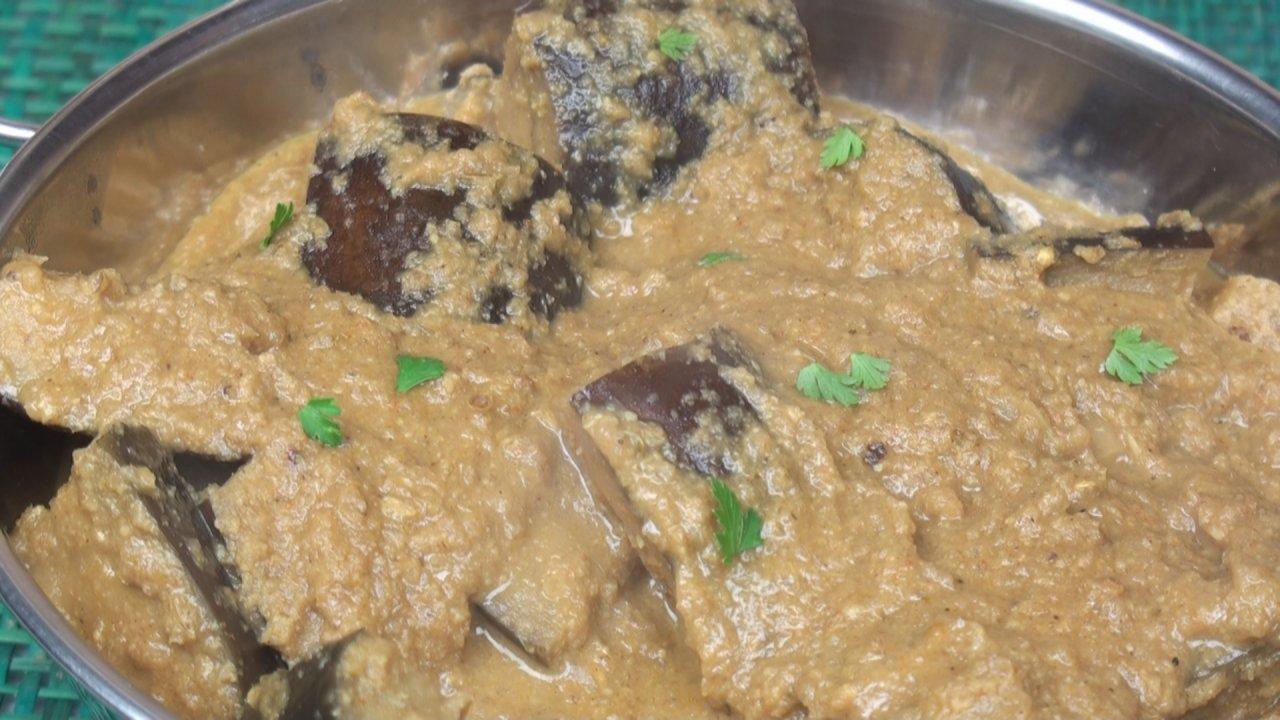 Shahi Baingan (Eggplant Curry)