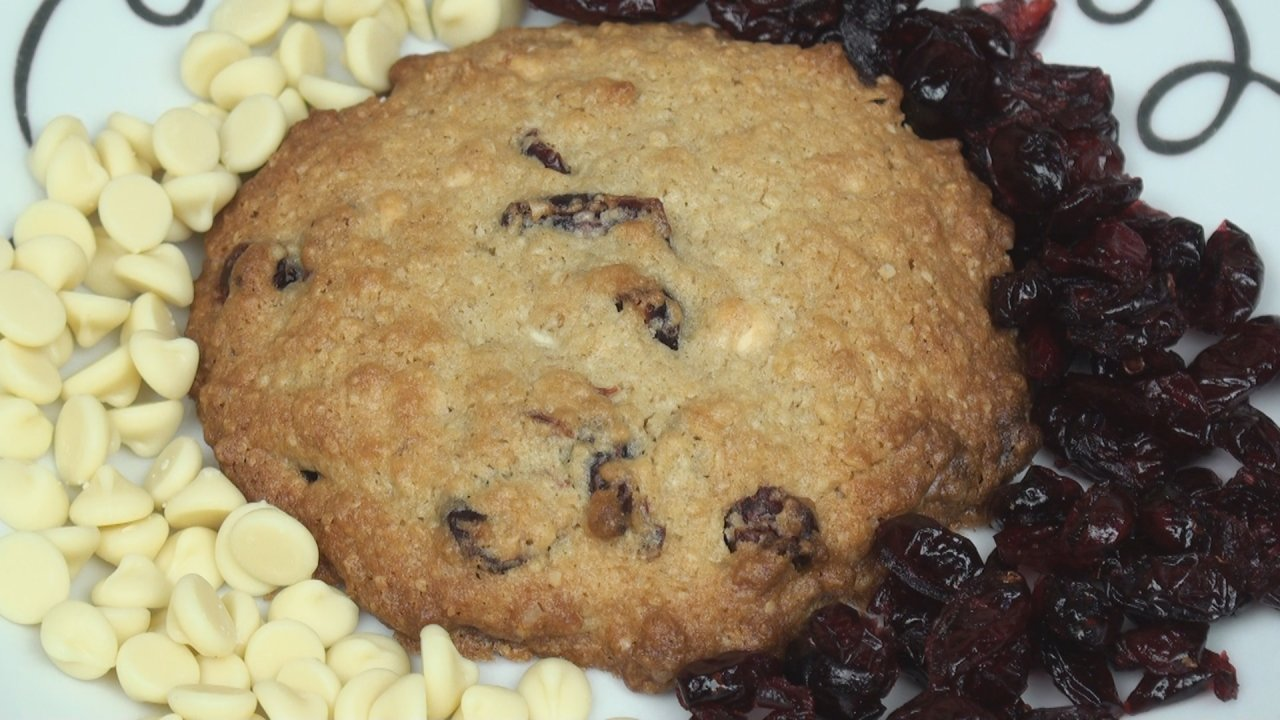 Cranberry & White Chocolate Cookies
