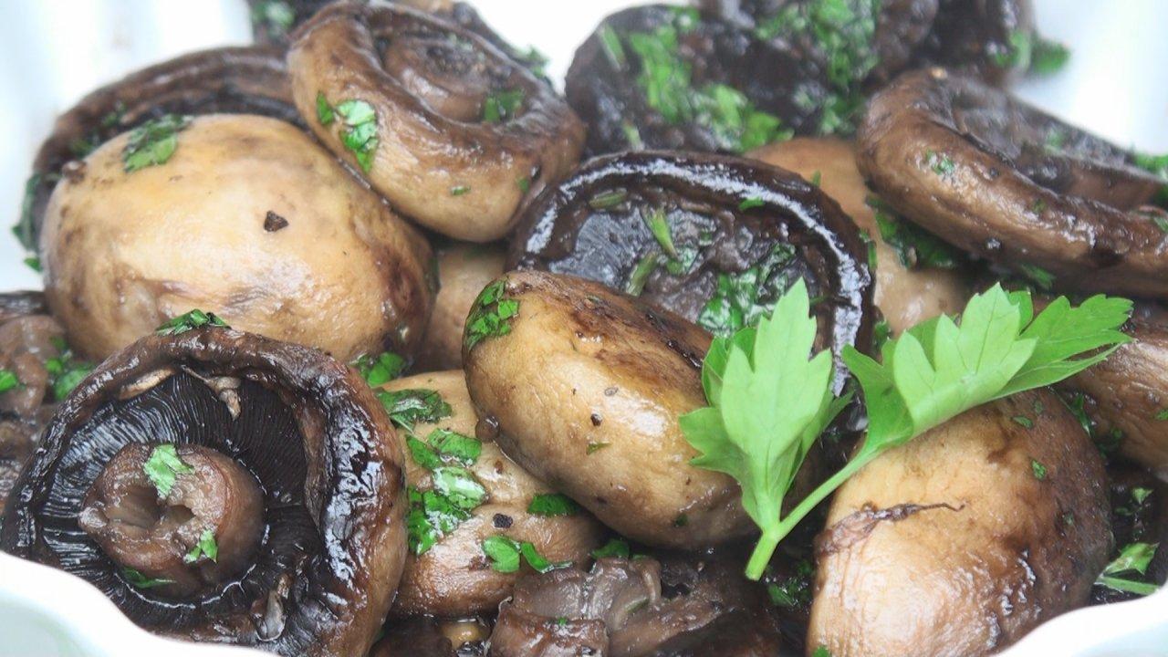 Sautéed Garlic Mushrooms
