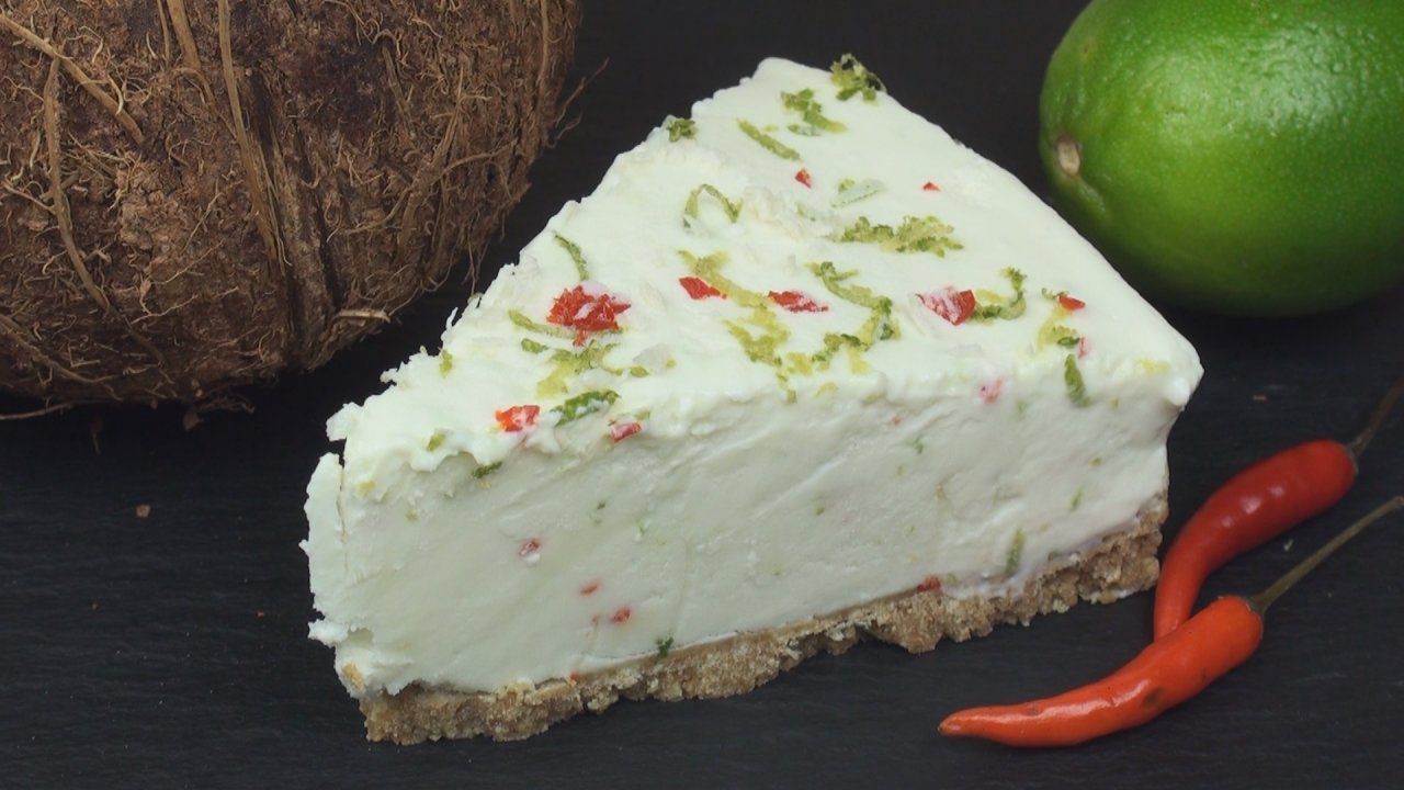 Coconut, Lime & Chili Cheesecake