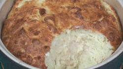 Cheese & Potato Souffle